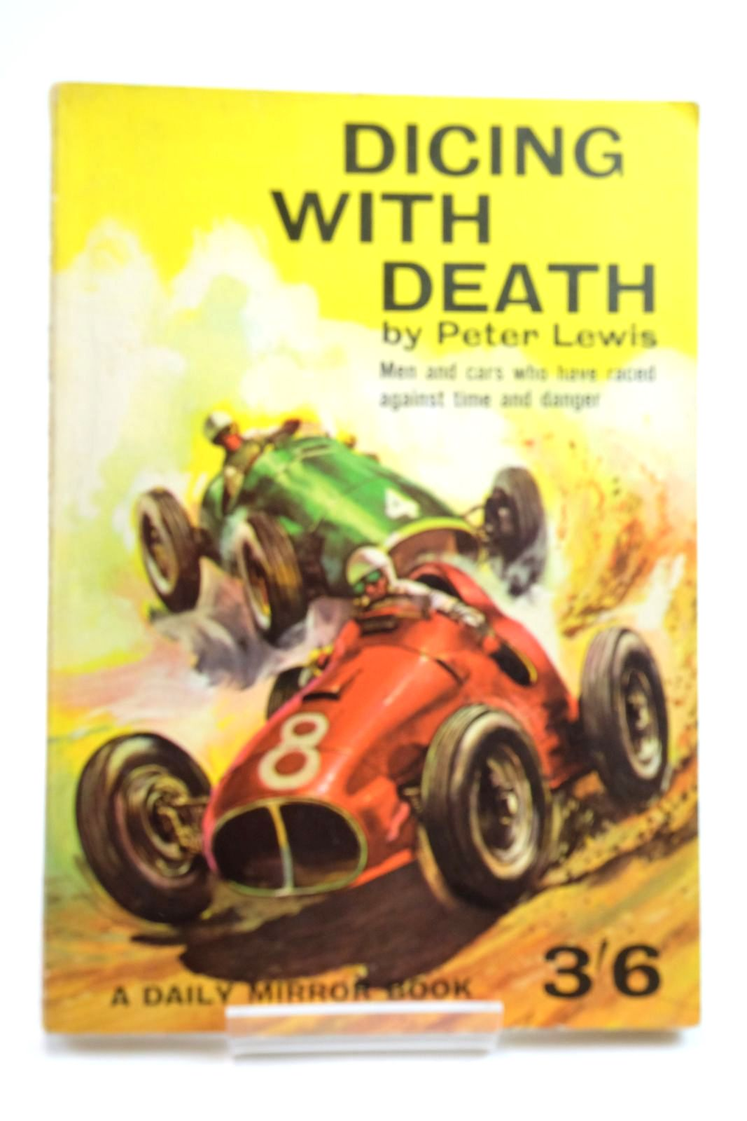 Photo of DICING WITH DEATH written by Lewis, Peter illustrated by Steward, Glen published by Daily Mirror Books (STOCK CODE: 2134625)  for sale by Stella & Rose's Books