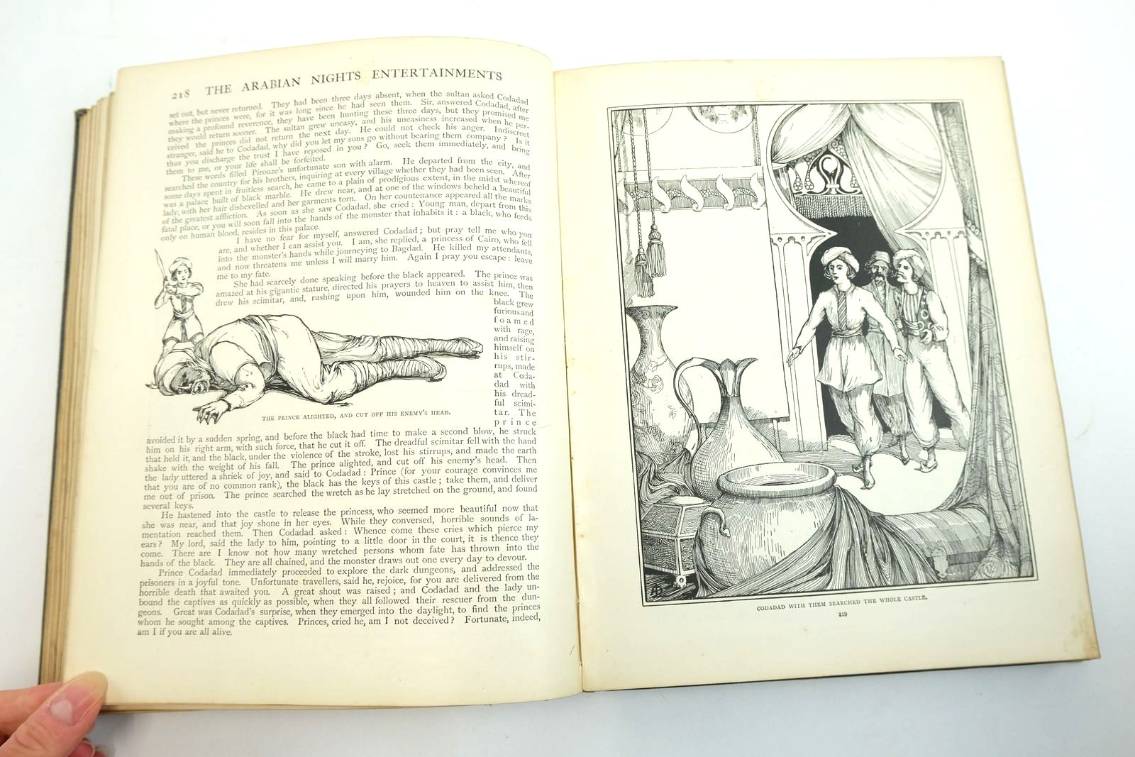 Photo of THE ARABIAN NIGHTS ENTERTAINMENTS illustrated by Robinson, W. Heath Stratton, Helen McCormick, A.D. Davis, A.L. Norbury, A.E. published by George Newnes Ltd. (STOCK CODE: 2134633)  for sale by Stella & Rose's Books