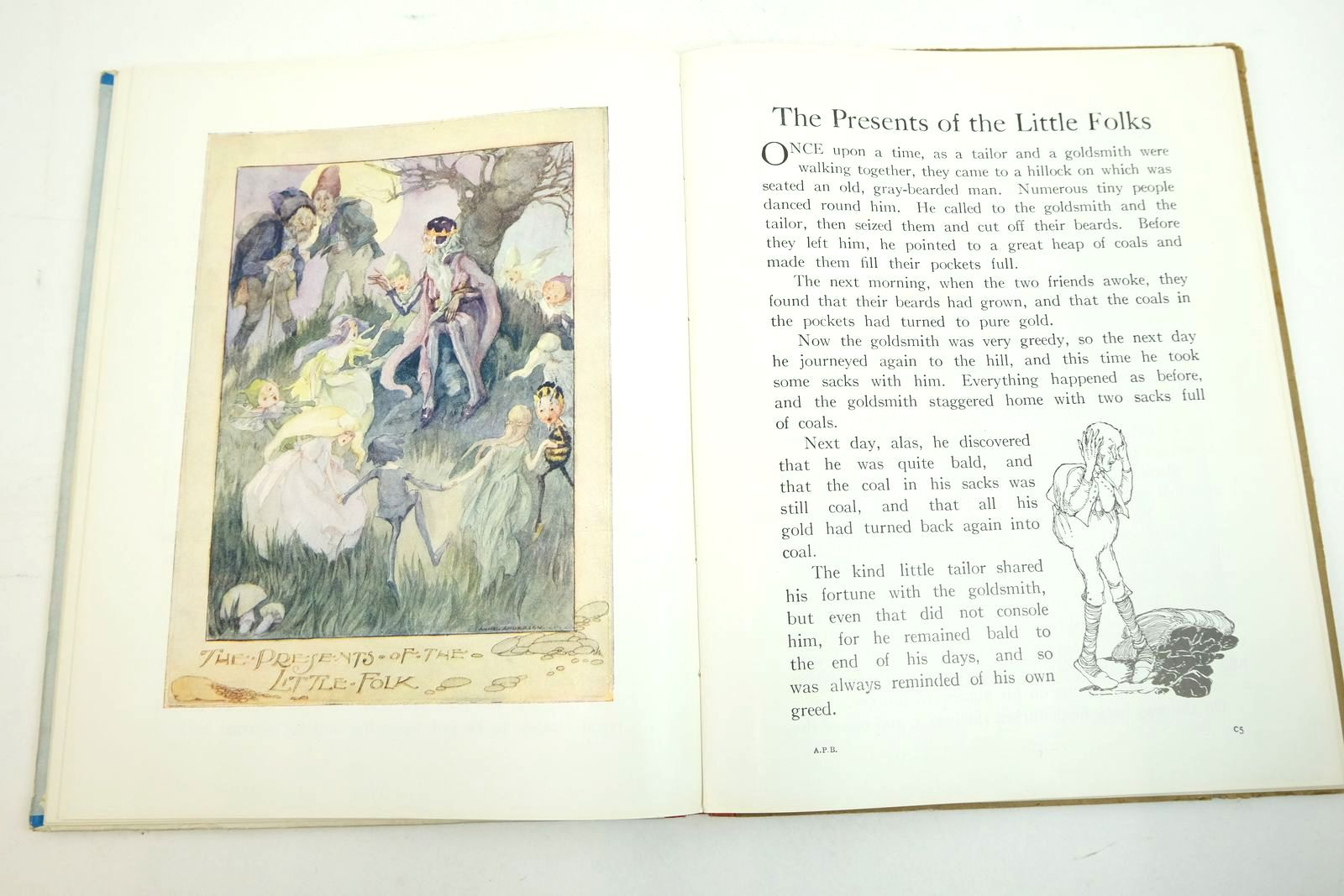 Photo of THE ANNE ANDERSON PICTURE BOOK written by Andersen, Hans Christian Grimm, Brothers illustrated by Anderson, Anne published by Collins Clear-Type Press (STOCK CODE: 2134634)  for sale by Stella & Rose's Books
