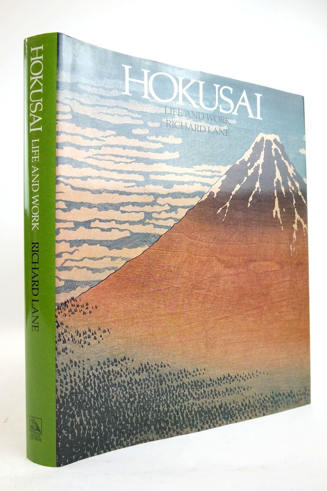 Photo of HOKUSAI: LIFE AND WORK written by Lane, Richard illustrated by Hokusai, Katsushika published by Barrie & Jenkins (STOCK CODE: 2134635)  for sale by Stella & Rose's Books
