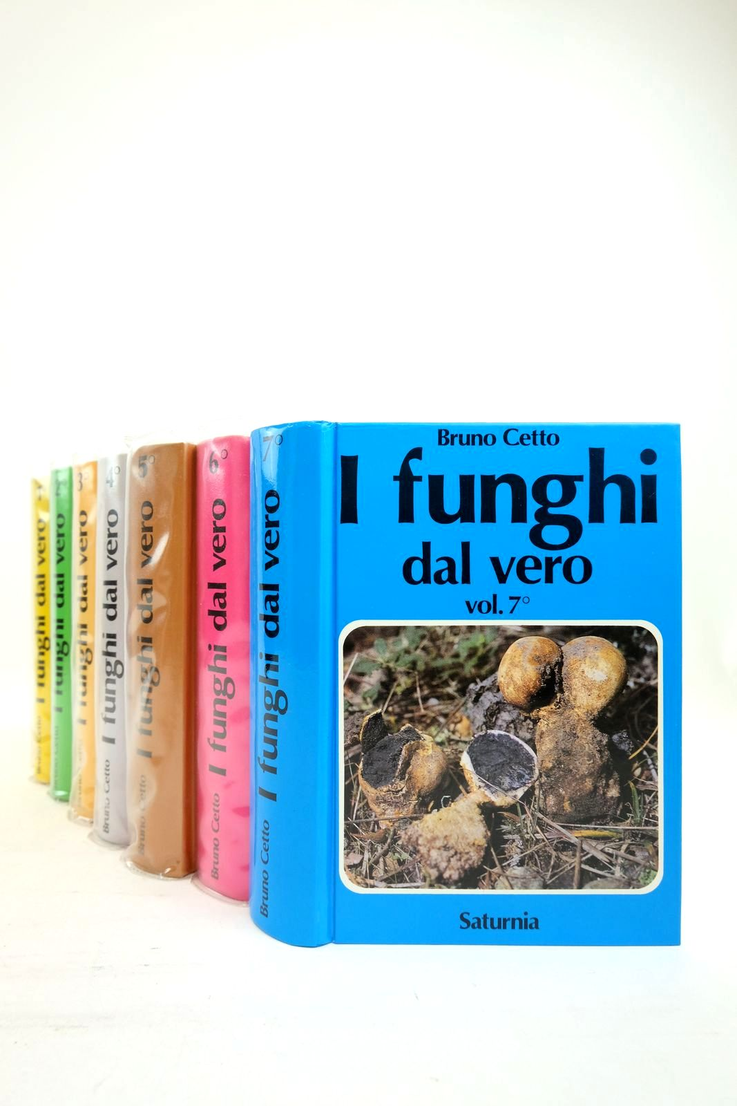 Photo of I FUNGHI DAL VERO (7 VOLUMES)- Stock Number: 2134639