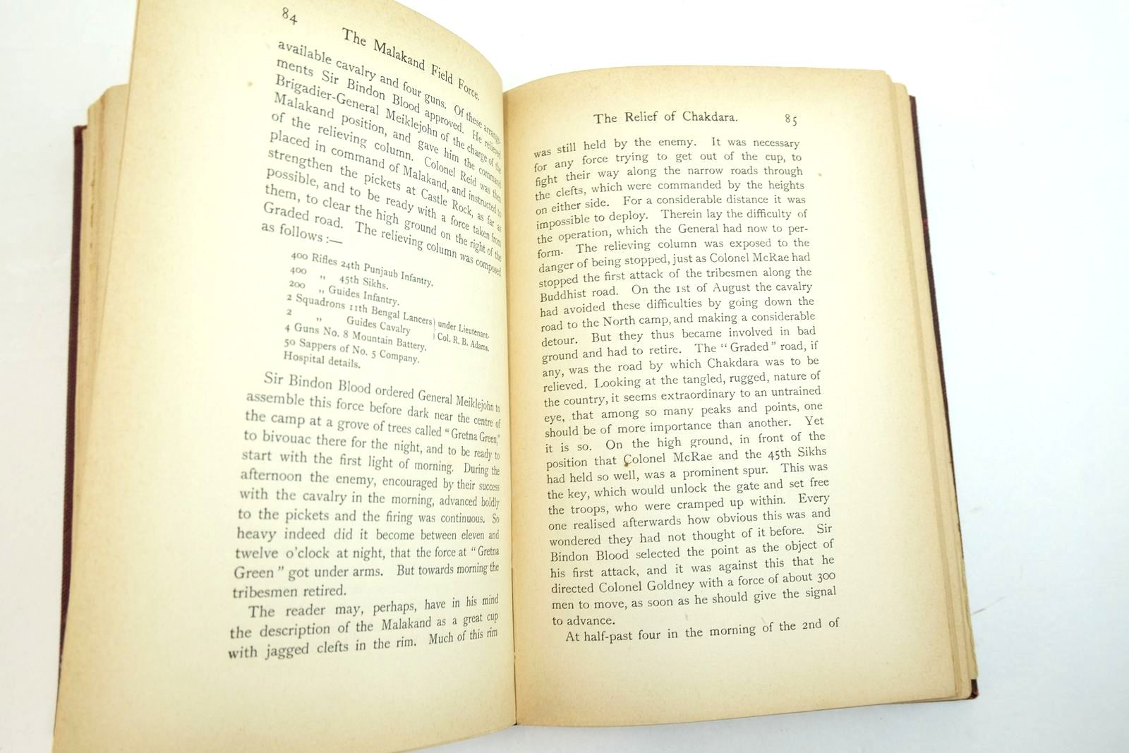 Photo of THE STORY OF THE MALAKAND FIELD FORCE: AN EPISODE OF FRONTIER WAR written by Churchill, Winston S. published by Longmans, Green & Co. (STOCK CODE: 2134640)  for sale by Stella & Rose's Books