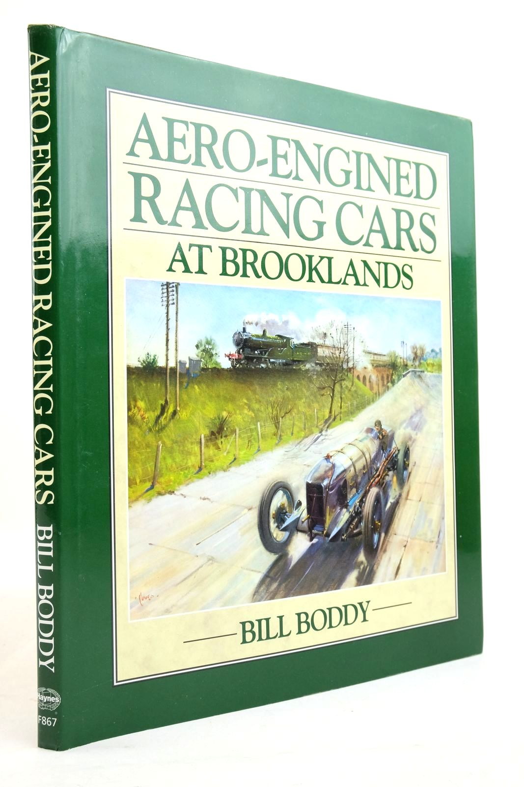 Photo of AERO-ENGINED RACING CARS AT BROOKLANDS written by Boddy, William published by Haynes Publishing Group (STOCK CODE: 2134643)  for sale by Stella & Rose's Books