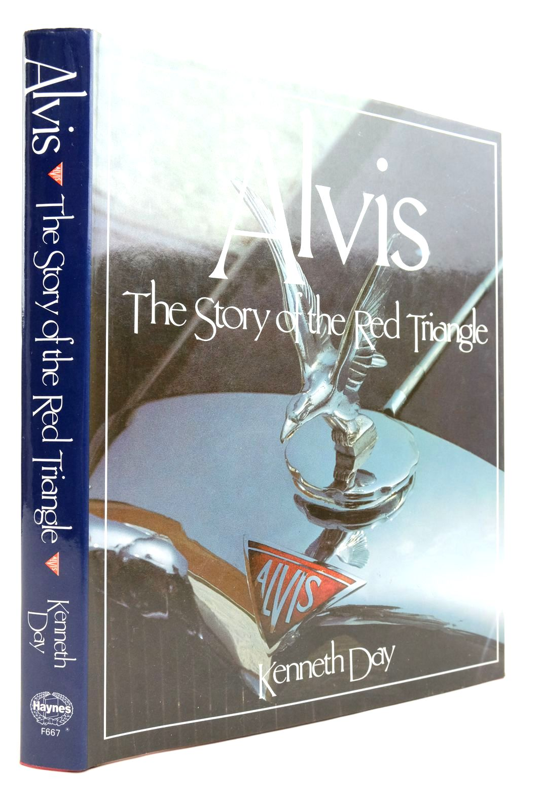 Photo of ALVIS THE STORY OF THE RED TRIANGLE written by Day, Kenneth published by Foulis, Haynes Publishing Group (STOCK CODE: 2134645)  for sale by Stella & Rose's Books