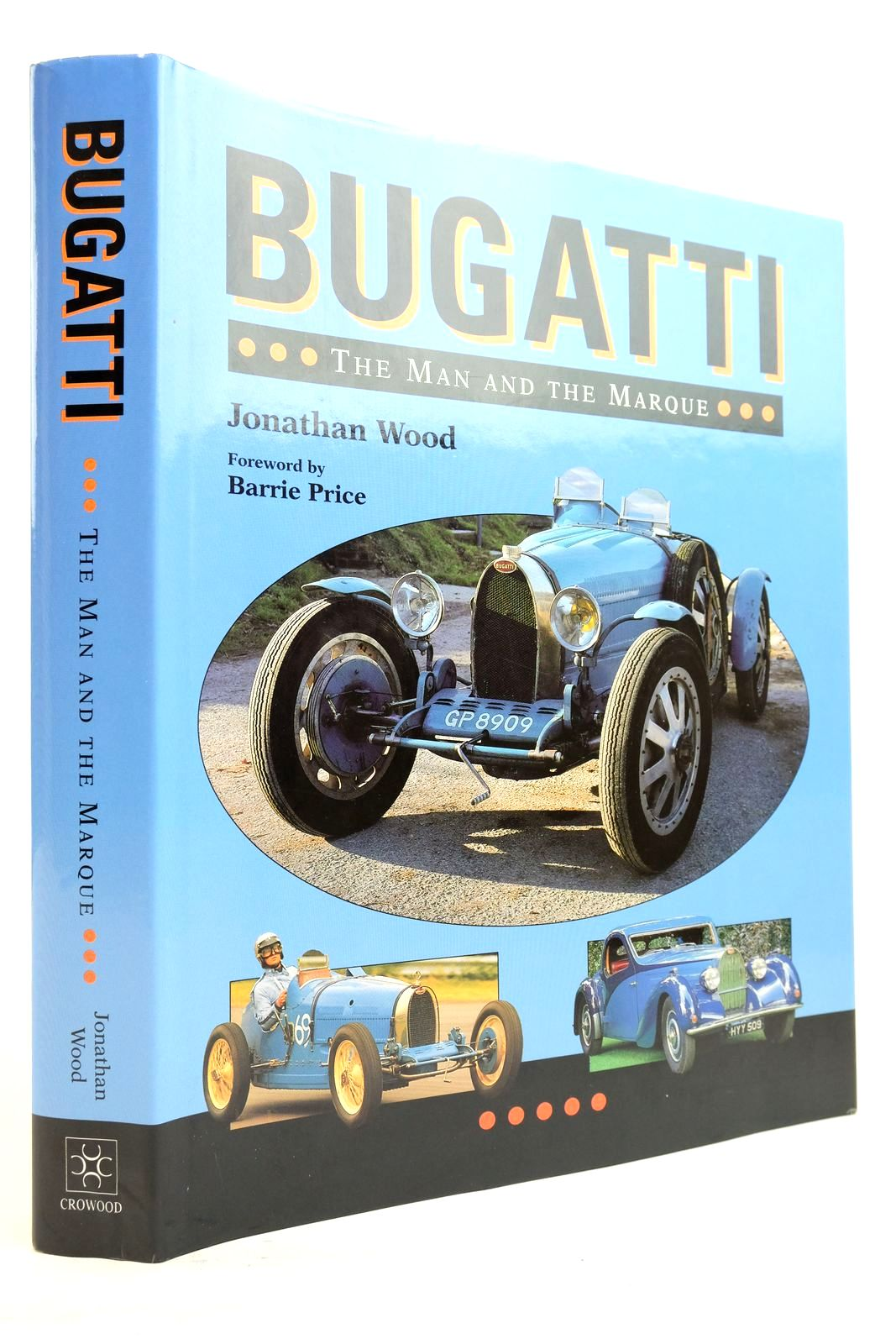 Photo of BUGATTI THE MAN AND THE MARQUE- Stock Number: 2134646