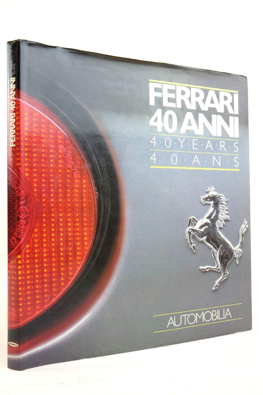 Photo of FERRARI 40 ANNI- Stock Number: 2134649