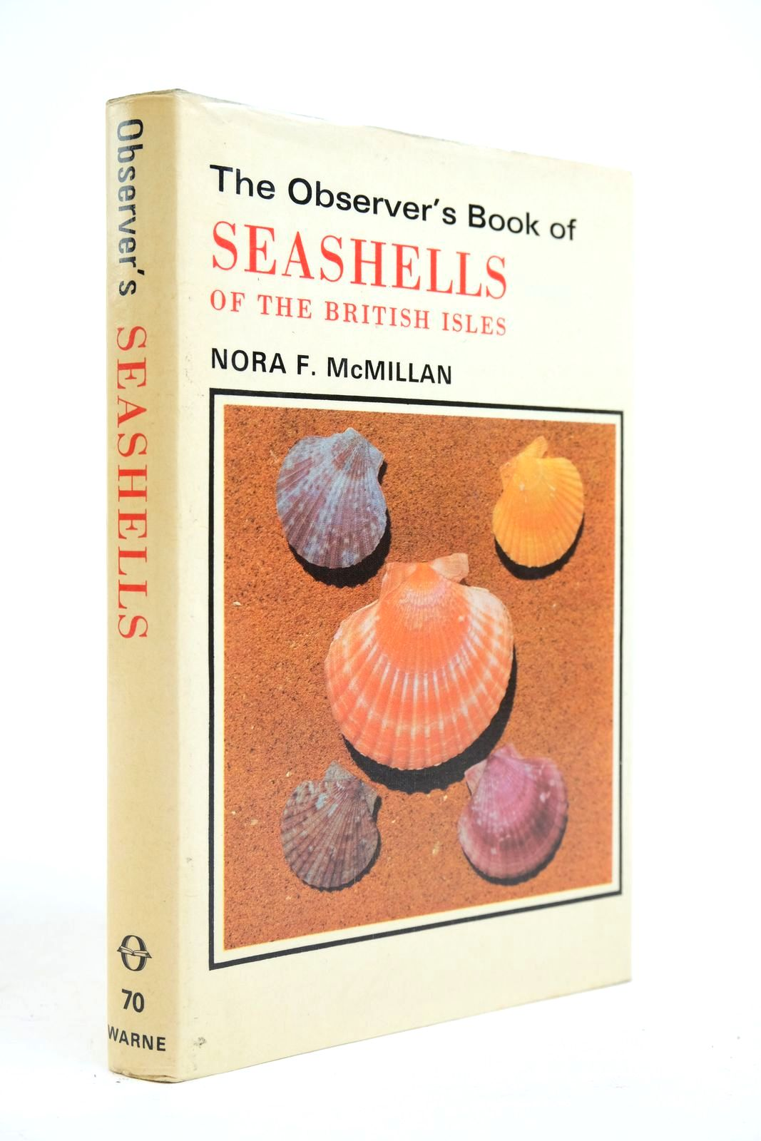 Photo of THE OBSERVER'S BOOK OF SEASHELLS OF THE BRITISH ISLES written by McMillan, Nora F. illustrated by Finlow, Bridget Clegg, John published by Frederick Warne & Co Ltd. (STOCK CODE: 2134659)  for sale by Stella & Rose's Books
