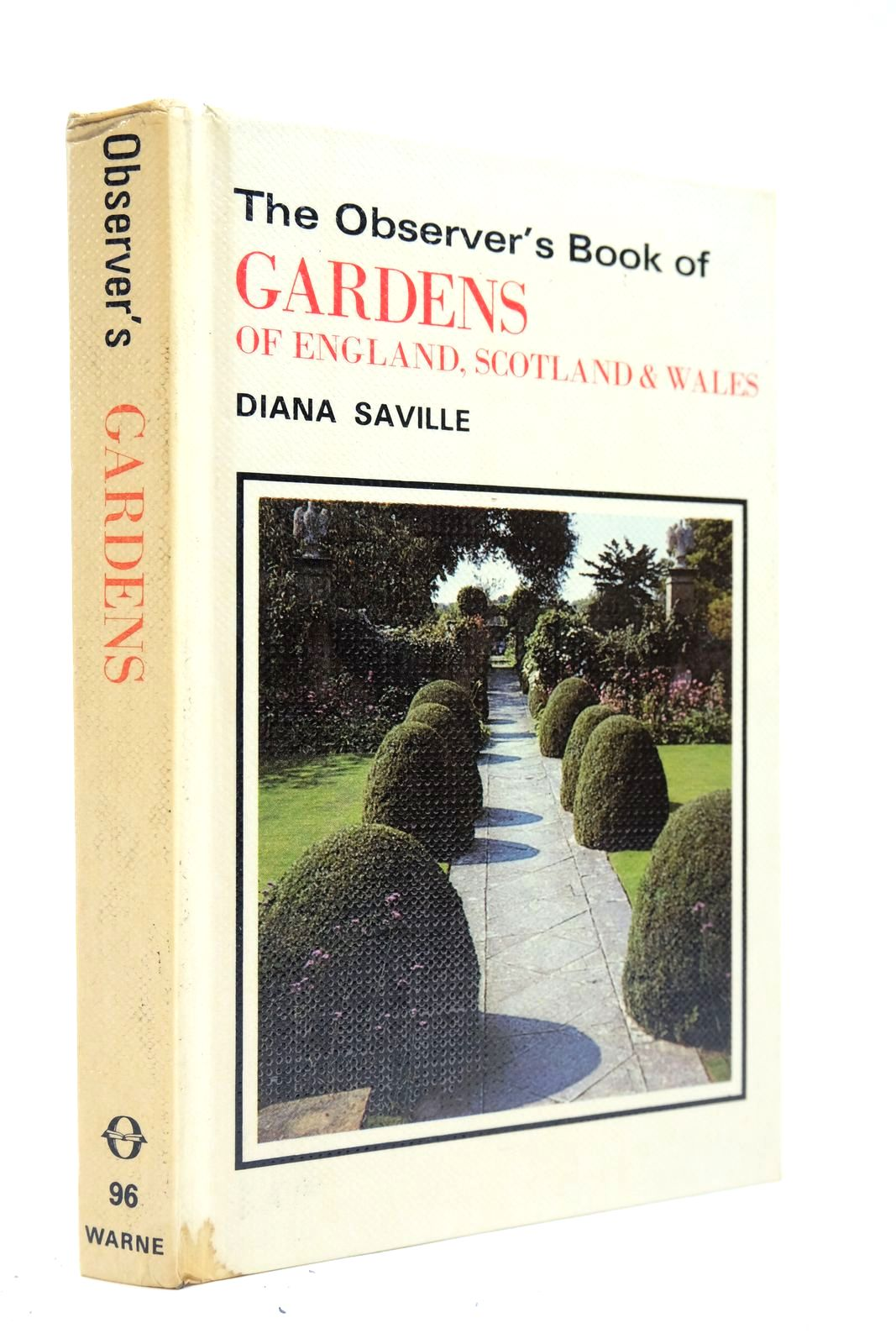 Photo of THE OBSERVER'S BOOK OF GARDENS OF ENGLAND, SCOTLAND & WALES written by Saville, Diana published by Frederick Warne & Co Ltd. (STOCK CODE: 2134666)  for sale by Stella & Rose's Books