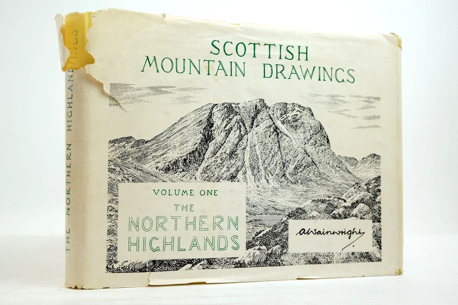 Photo of SCOTTISH MOUNTAIN DRAWINGS VOLUME ONE THE NORTHERN HIGHLANDS- Stock Number: 2134669
