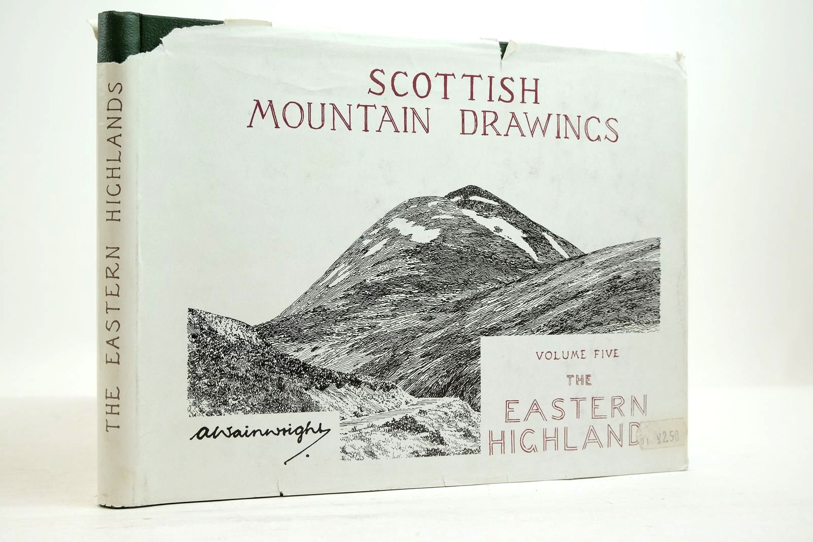 Photo of SCOTTISH MOUNTAIN DRAWINGS VOLUME FIVE THE EASTERN HIGHLANDS- Stock Number: 2134673