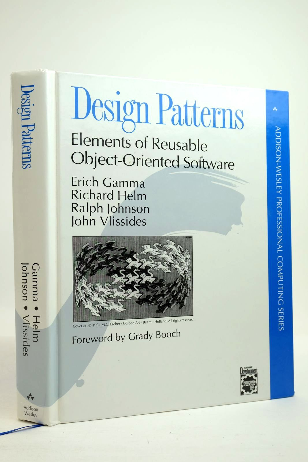 Photo of DESIGN PATTERNS: ELEMENTS OF REUSABLE OBJECT-ORIENTED SOFTWARE- Stock Number: 2134685