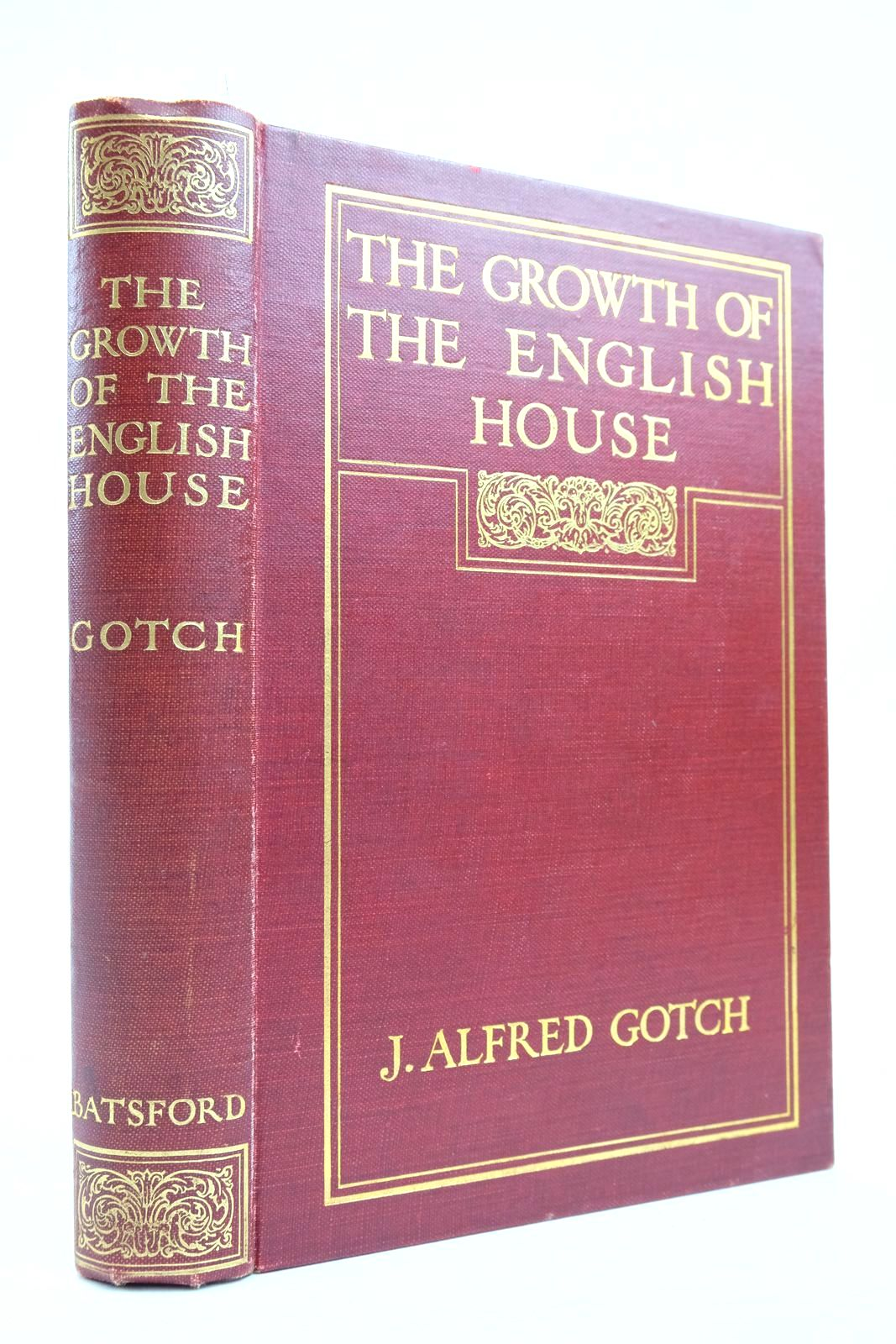 Photo of THE GROWTH OF THE ENGLISH HOUSE- Stock Number: 2134695