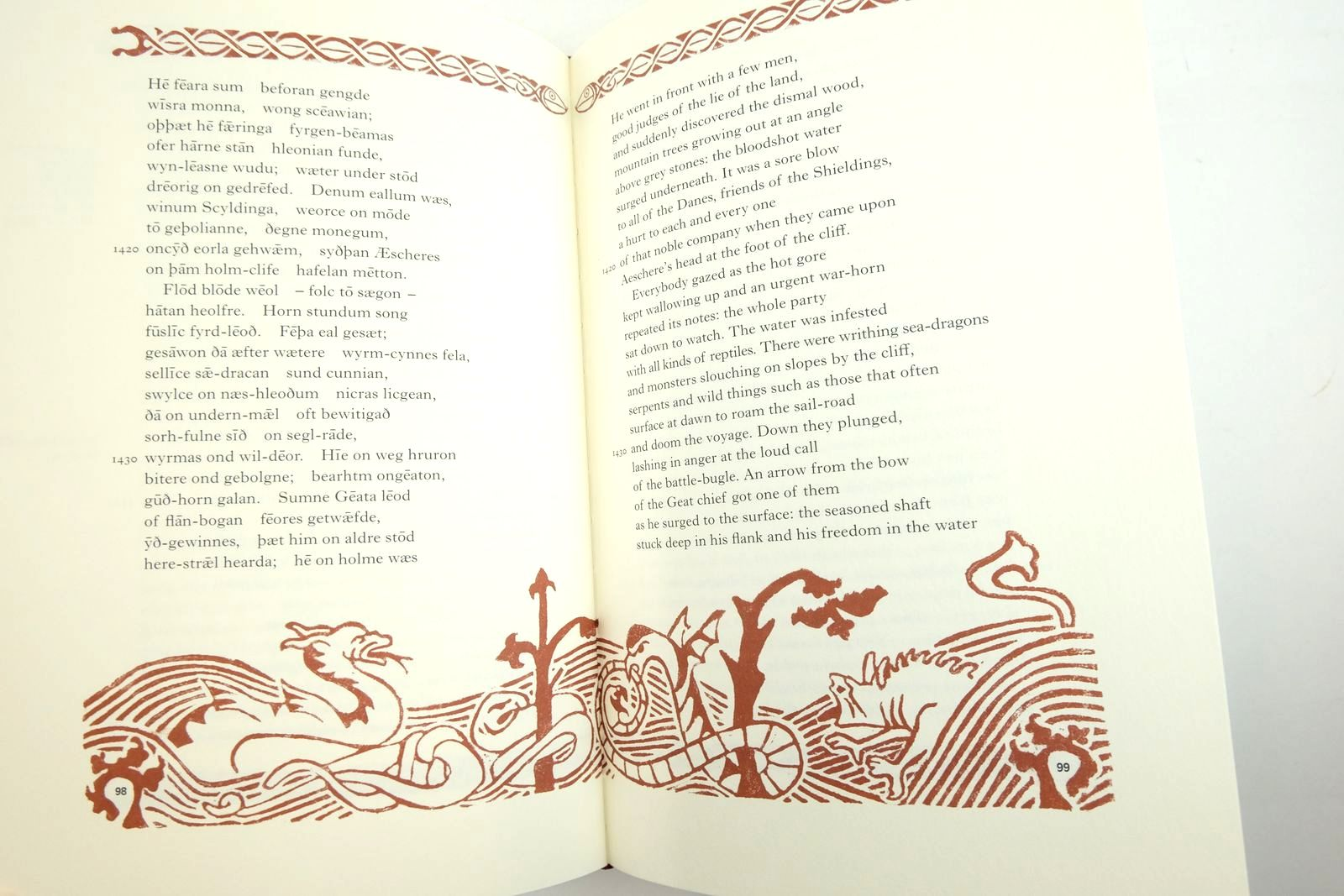 Photo of BEOWULF written by Heaney, Seamus illustrated by Thorne, Becca published by Folio Society (STOCK CODE: 2134704)  for sale by Stella & Rose's Books
