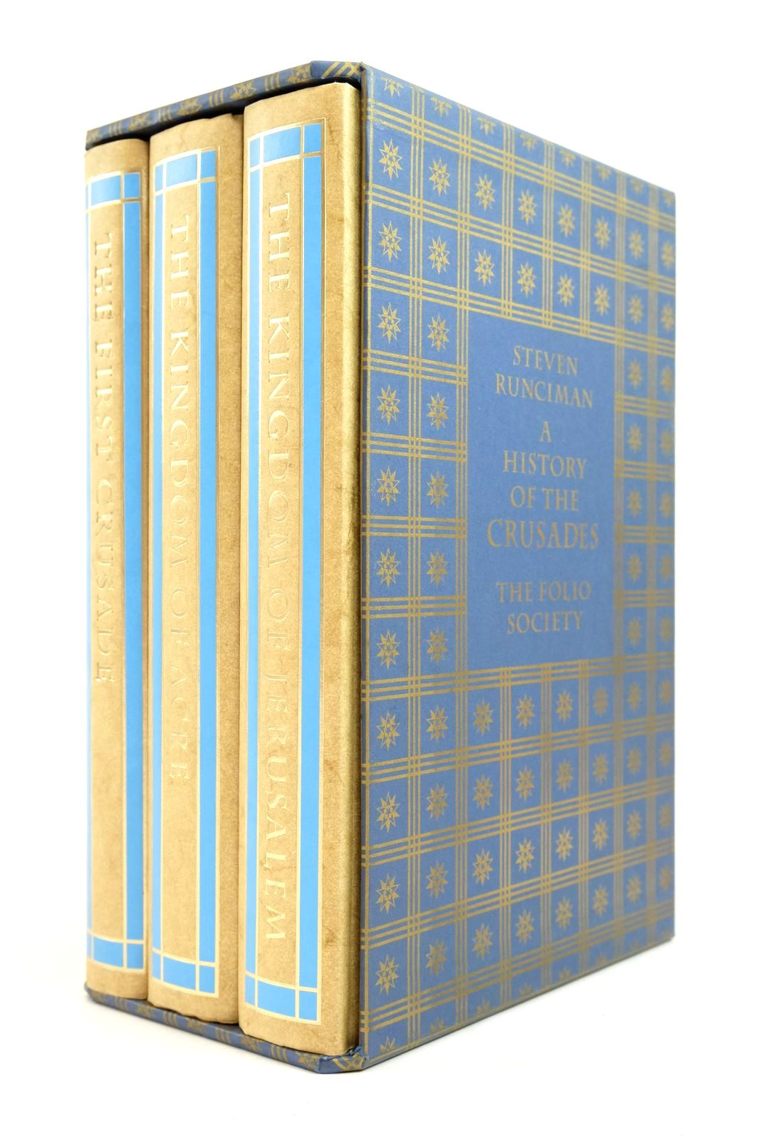 Photo of A HISTORY OF THE CRUSADES (3 VOLUMES)- Stock Number: 2134705