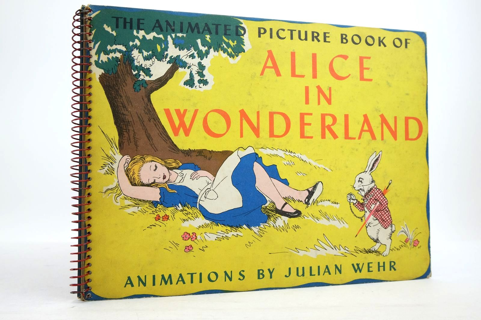 Photo of THE ANIMATED PICTURE BOOK OF ALICE IN WONDERLAND- Stock Number: 2134710