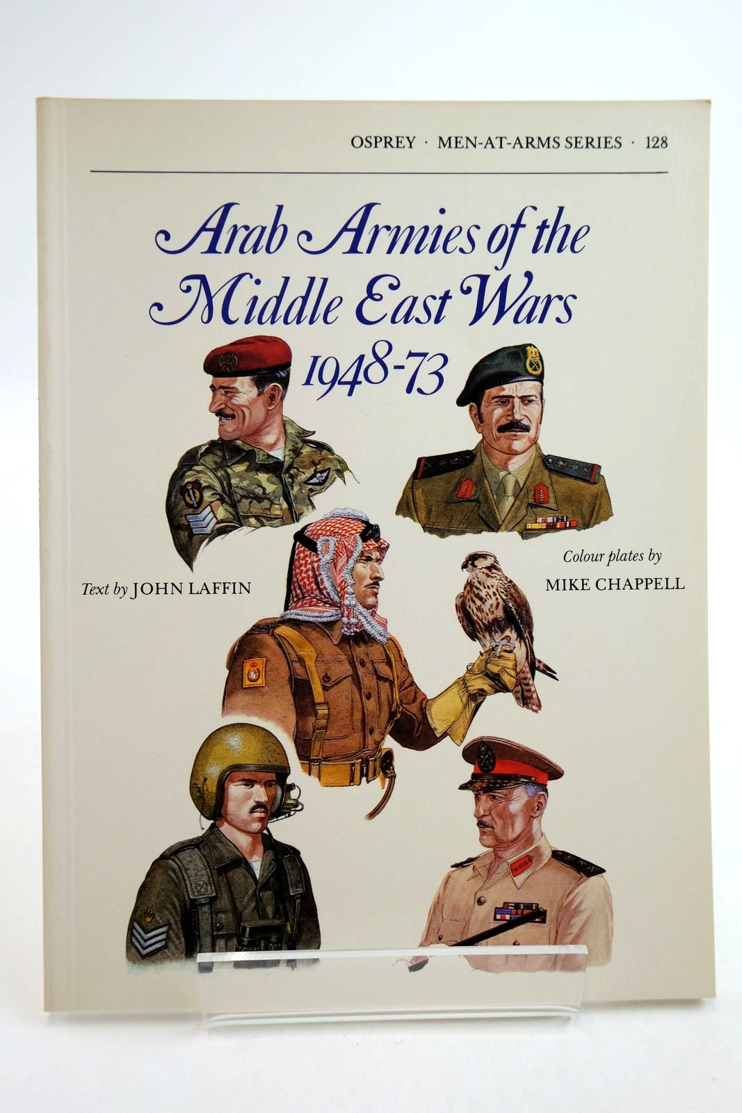 Photo of ARAB ARMIES OF THE MIDDLE EAST WARS 1948-73 written by Laffin, John illustrated by Chappell, Mike published by Osprey Publishing (STOCK CODE: 2134756)  for sale by Stella & Rose's Books
