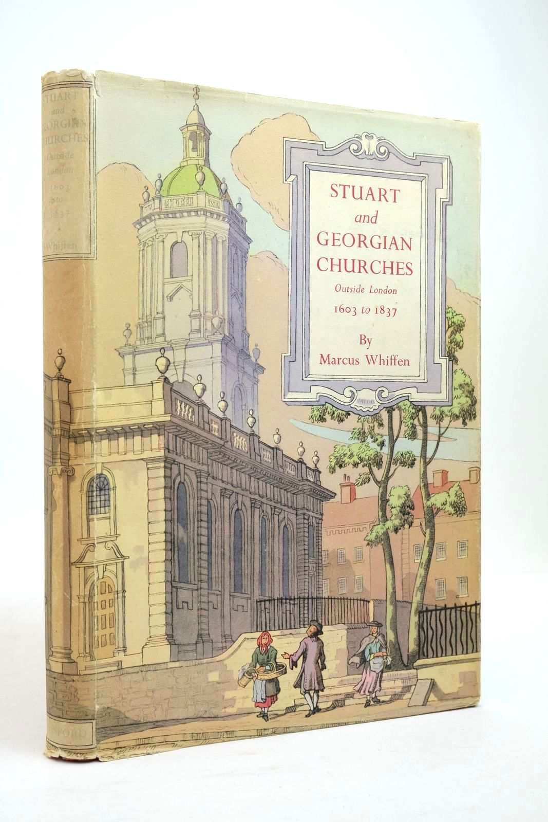 Photo of STUART AND GEORGIAN CHURCHES written by Whiffen, Marcus published by B.T. Batsford (STOCK CODE: 2134769)  for sale by Stella & Rose's Books