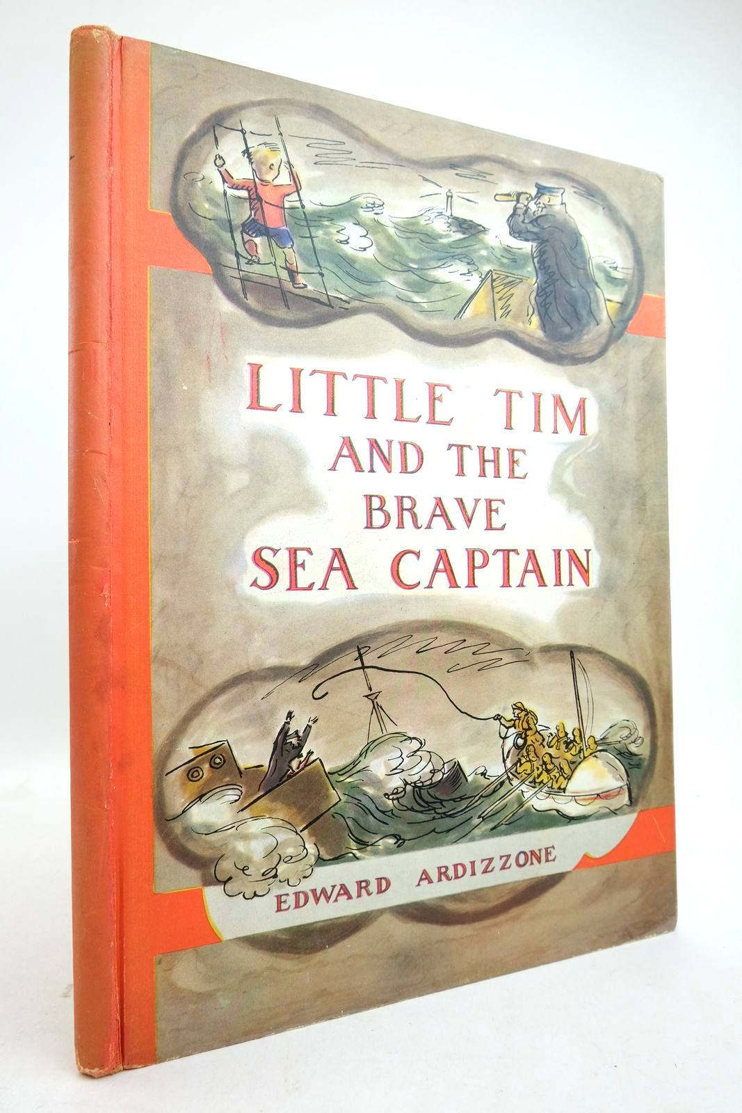 Photo of LITTLE TIM AND THE BRAVE SEA CAPTAIN written by Ardizzone, Edward illustrated by Ardizzone, Edward published by Oxford University Press (STOCK CODE: 2134788)  for sale by Stella & Rose's Books