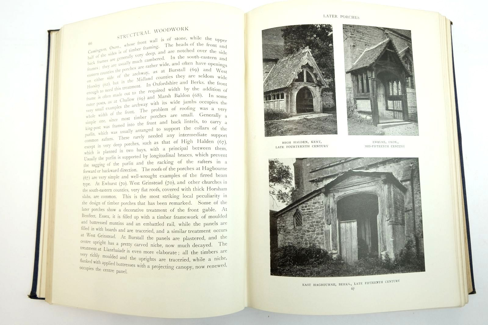 Photo of ENGLISH CHURCH WOODWORK: A STUDY IN CRAFTSMANSHIP DURING THE MEDIAEVAL PERIOD A.D. 1250-1550 written by Howard, F.E. Crossley, F.H. published by B.T. Batsford Ltd. (STOCK CODE: 2134792)  for sale by Stella & Rose's Books