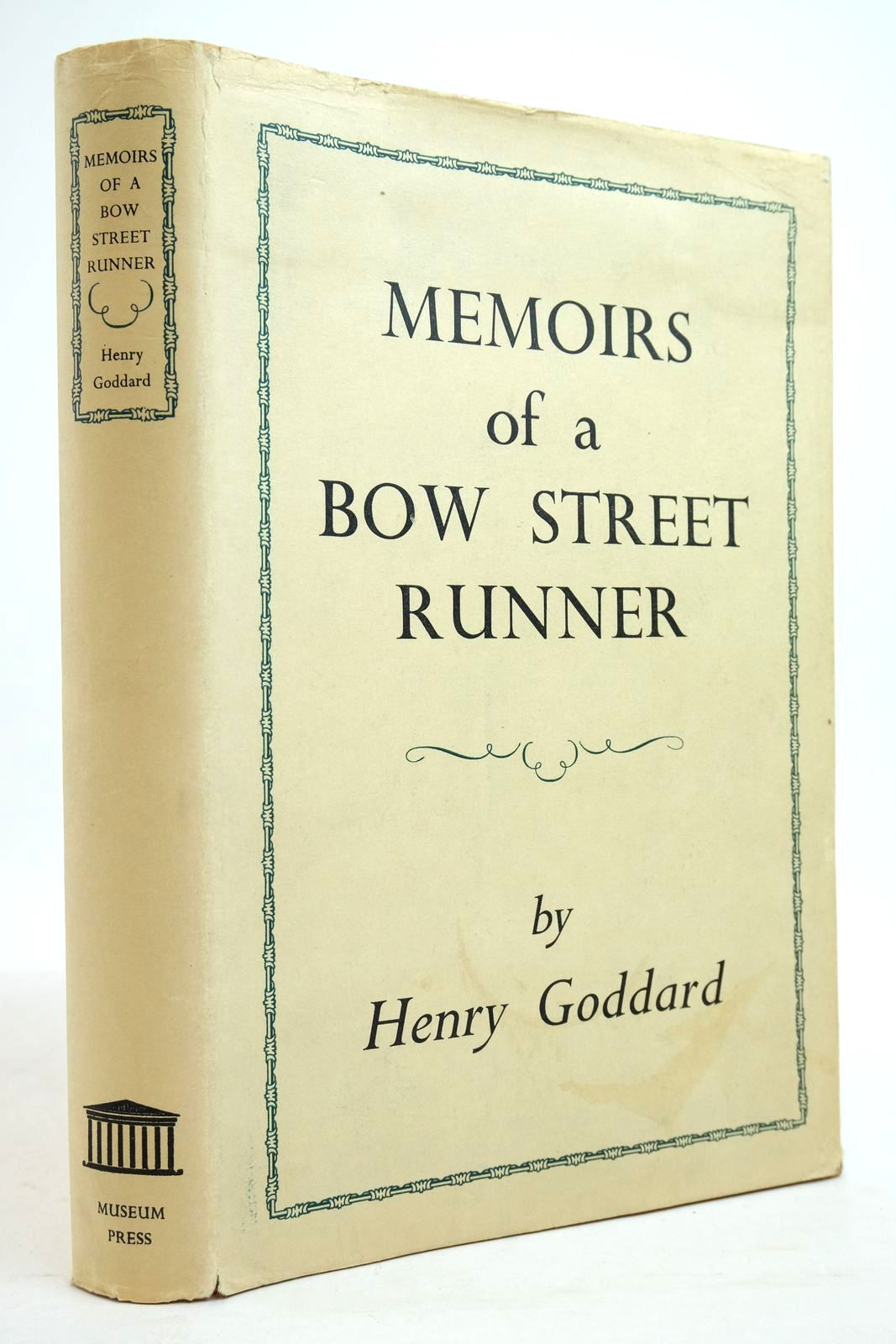 Photo of MEMOIRS OF A BOW STREET RUNNER- Stock Number: 2134797