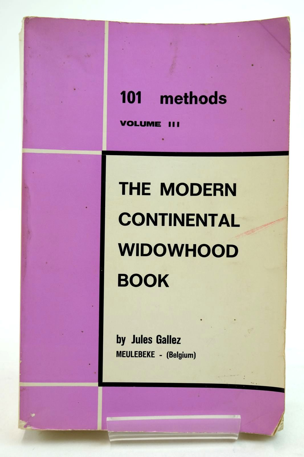 Photo of 101 METHODS VOLUME III THE MODERN CONTINENTAL WIDOWHOOD BOOK- Stock Number: 2134816