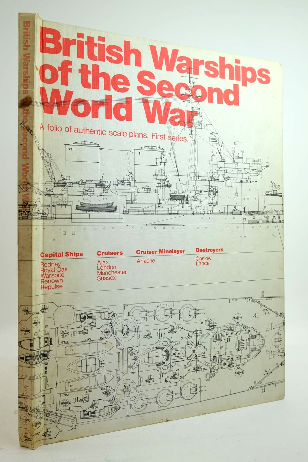 Photo of BRITISH WARSHIPS OF THE SECOND WORLD WAR written by Ravan, Alan Roberts, John published by Conway Maritime Press (STOCK CODE: 2134867)  for sale by Stella & Rose's Books