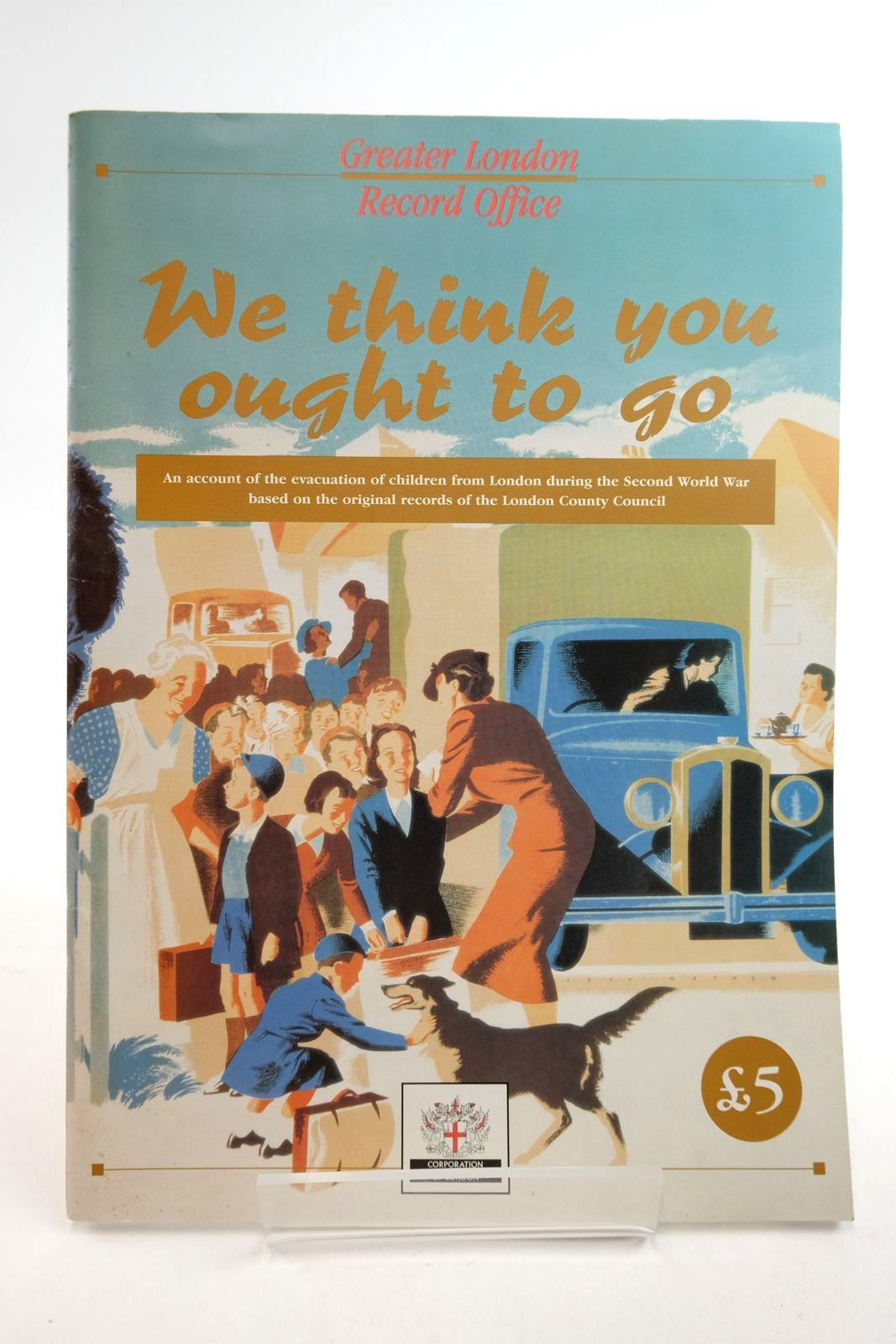 Photo of WE THINK YOU OUGHT TO GO written by Samways, Richard (STOCK CODE: 2134877)  for sale by Stella & Rose's Books