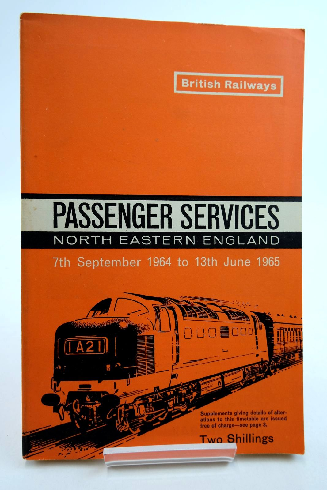 Photo of PASSENGER SERVICES NORTH EASTERN ENGLAND published by British Railways (STOCK CODE: 2134880)  for sale by Stella & Rose's Books
