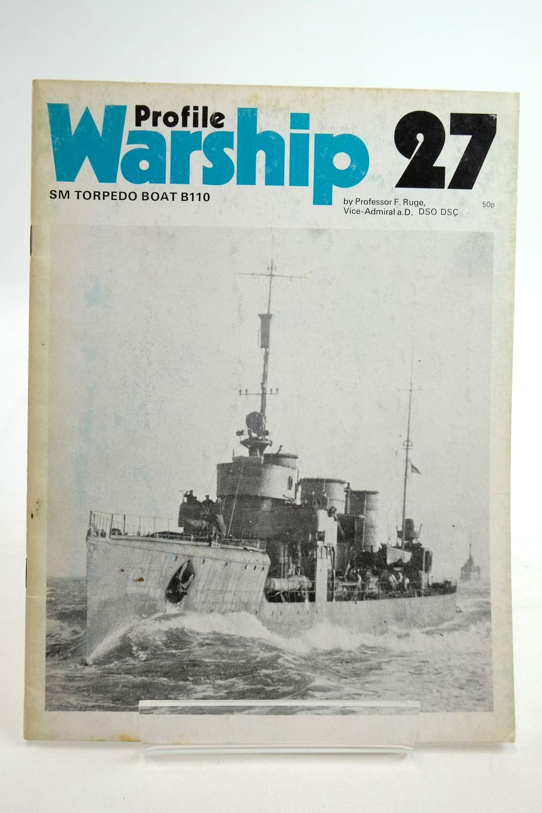 Photo of PROFILE WARSHIP 27: SM TORPEDO BOAT B110- Stock Number: 2134912