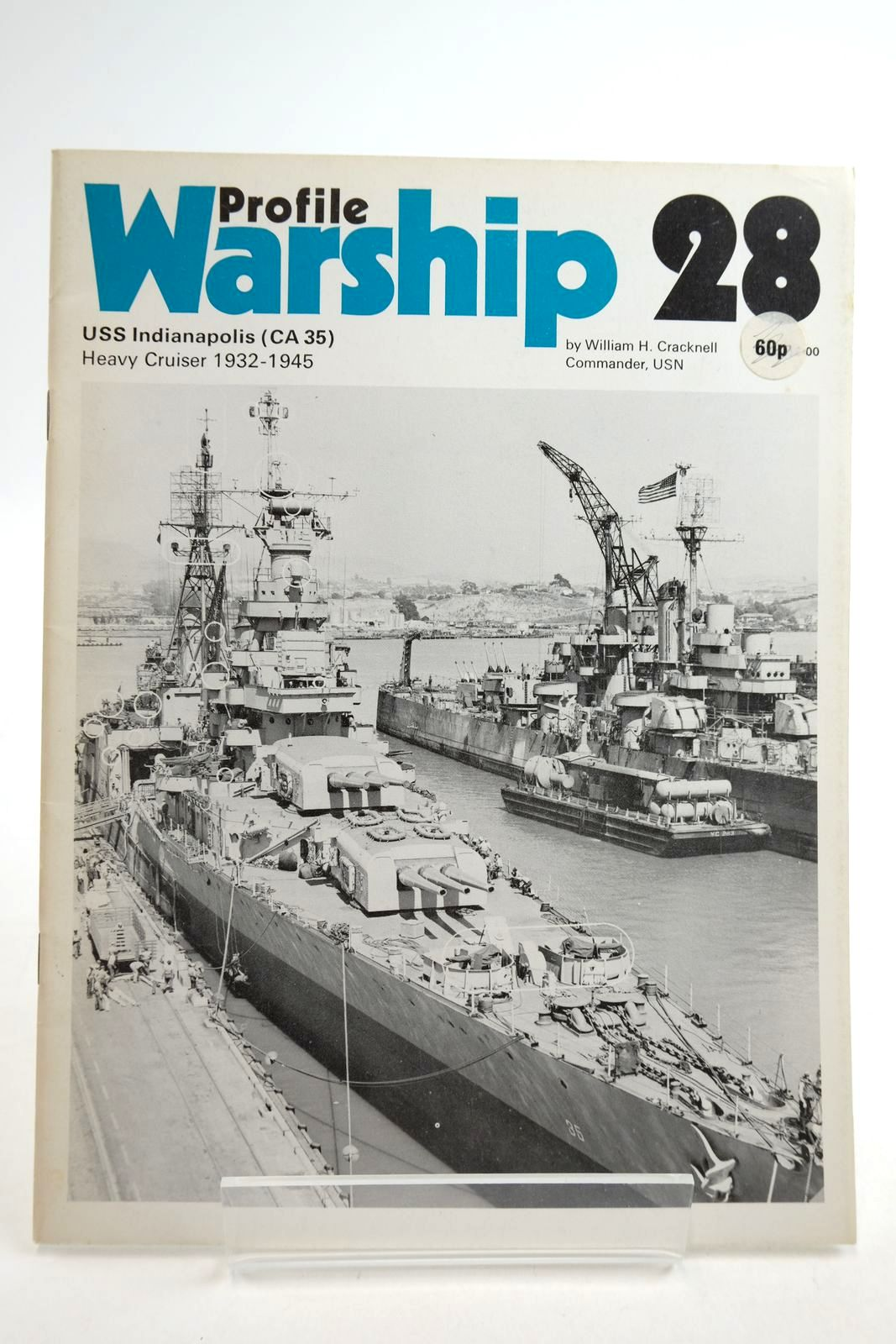 Photo of PROFILE WARSHIP 28: USS INDIANAPOLIS (CA 35) HEAVY CRUISER 1932-1945- Stock Number: 2134913