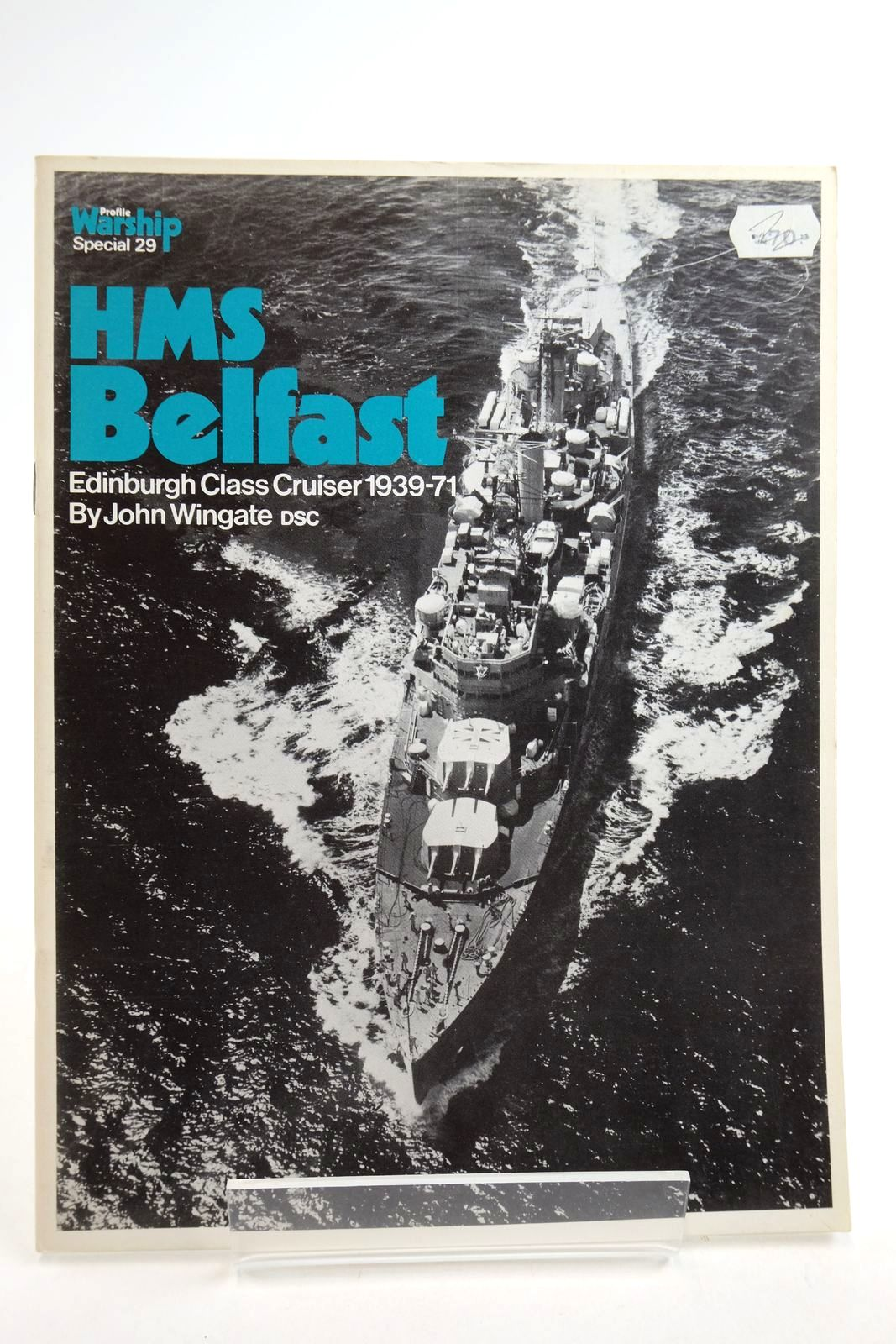 Photo of PROFILE WARSHIP SPECIAL 29: HMS BELFACT EDINBURGH CLASS CRUISER 1939-1971 written by Wingate, John published by Profile Publications (STOCK CODE: 2134914)  for sale by Stella & Rose's Books