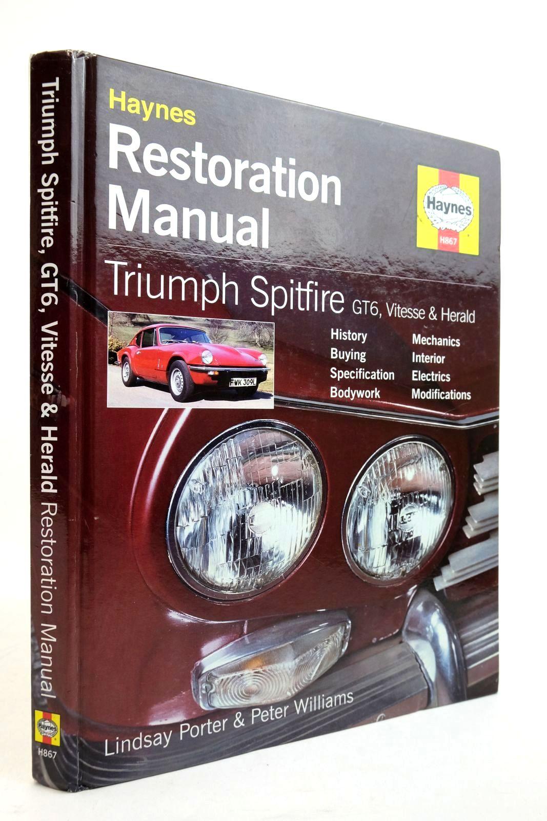 Photo of HAYNES RESTORATION MANUAL: TRIUMPH SPITFIRE GT6, VITESSE & HERALD- Stock Number: 2134920