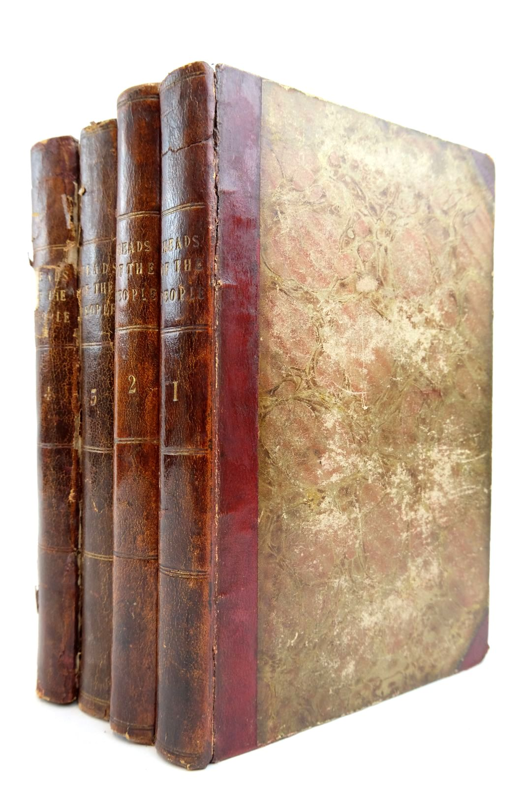 Photo of HEADS OF THE PEOPLE: PORTRAITS OF THE ENGLISH (4 VOLUMES)- Stock Number: 2134923
