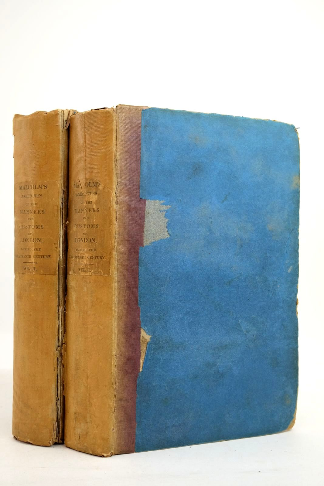 Photo of ANECDOTES OF THE MANNERS AND CUSTOMS OF LONDON DURING THE EIGHTEENTH CENTURY (2 VOLUMES) written by Malcolm, James Peller published by Longman, Hurst, Rees And Orme (STOCK CODE: 2134926)  for sale by Stella & Rose's Books
