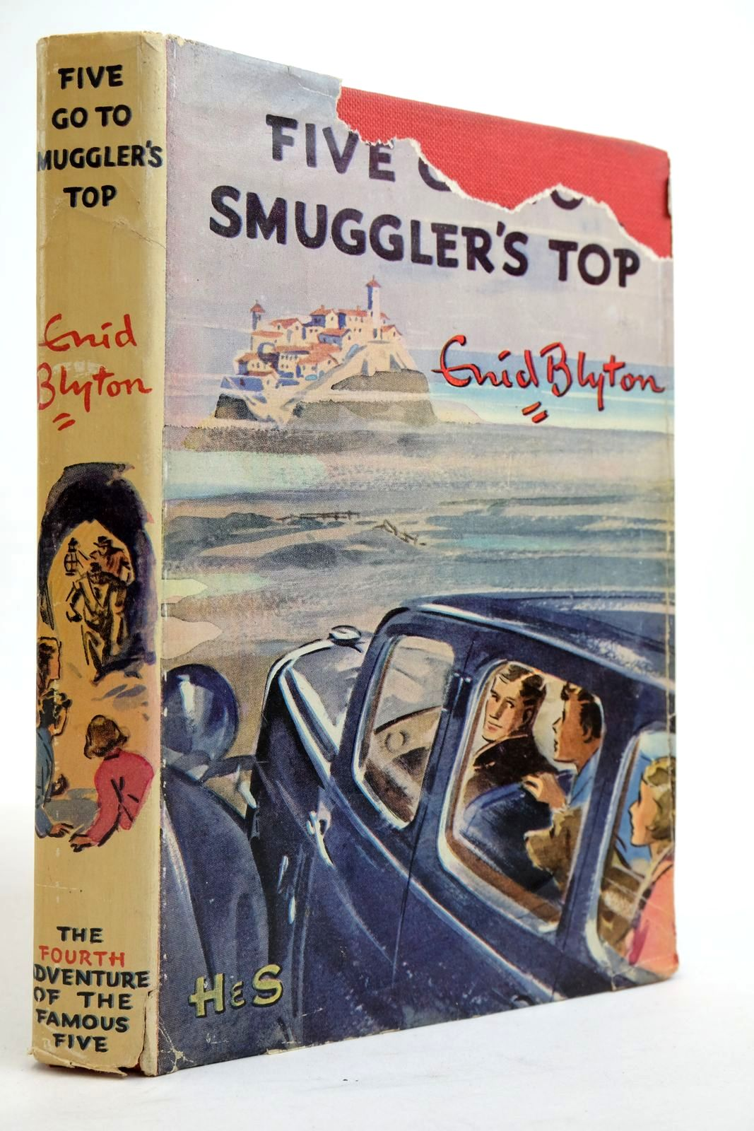 Photo of FIVE GO TO SMUGGLER'S TOP written by Blyton, Enid illustrated by Soper, Eileen published by Hodder & Stoughton (STOCK CODE: 2134935)  for sale by Stella & Rose's Books