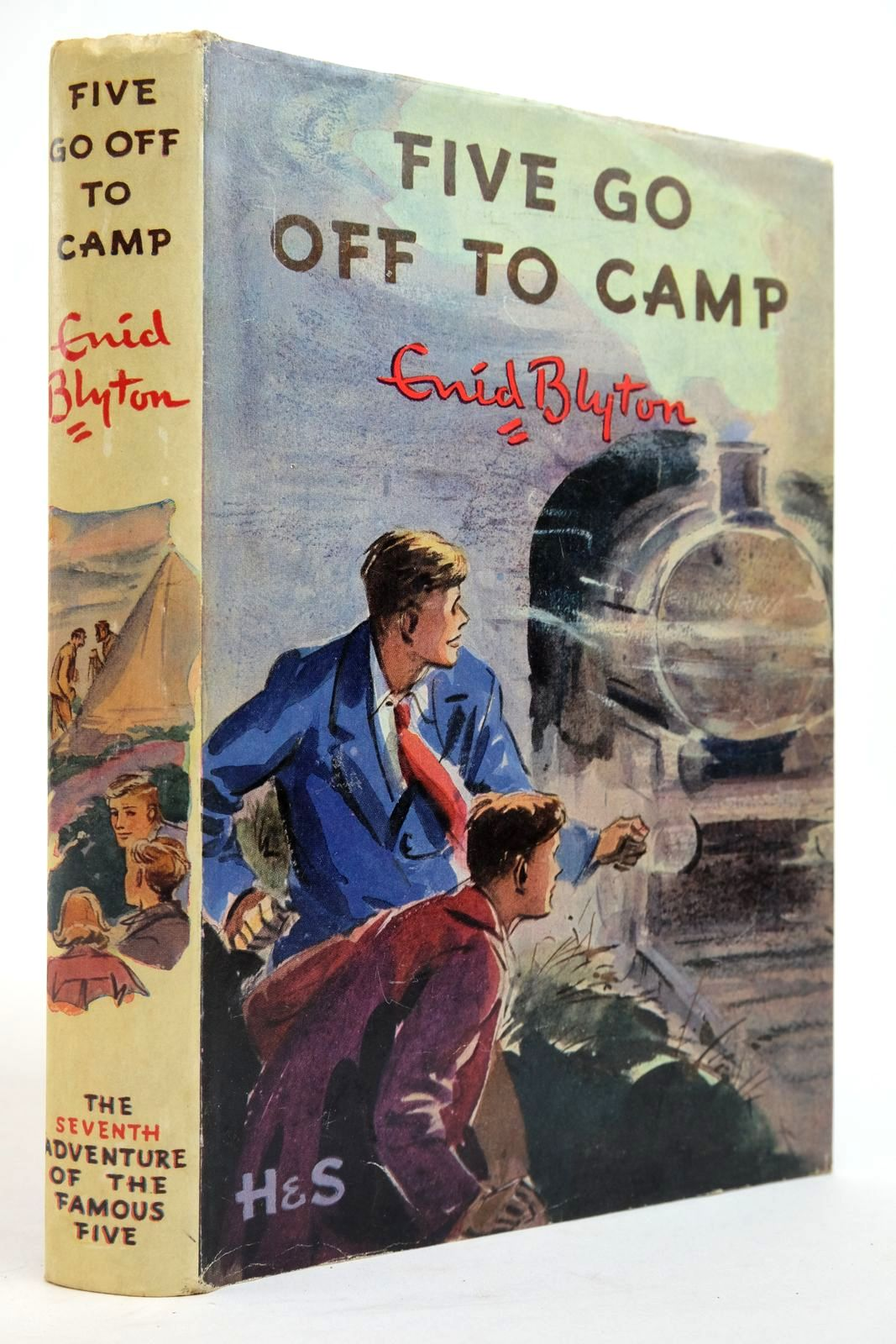 Photo of FIVE GO OFF TO CAMP written by Blyton, Enid illustrated by Soper, Eileen published by Hodder & Stoughton (STOCK CODE: 2134945)  for sale by Stella & Rose's Books