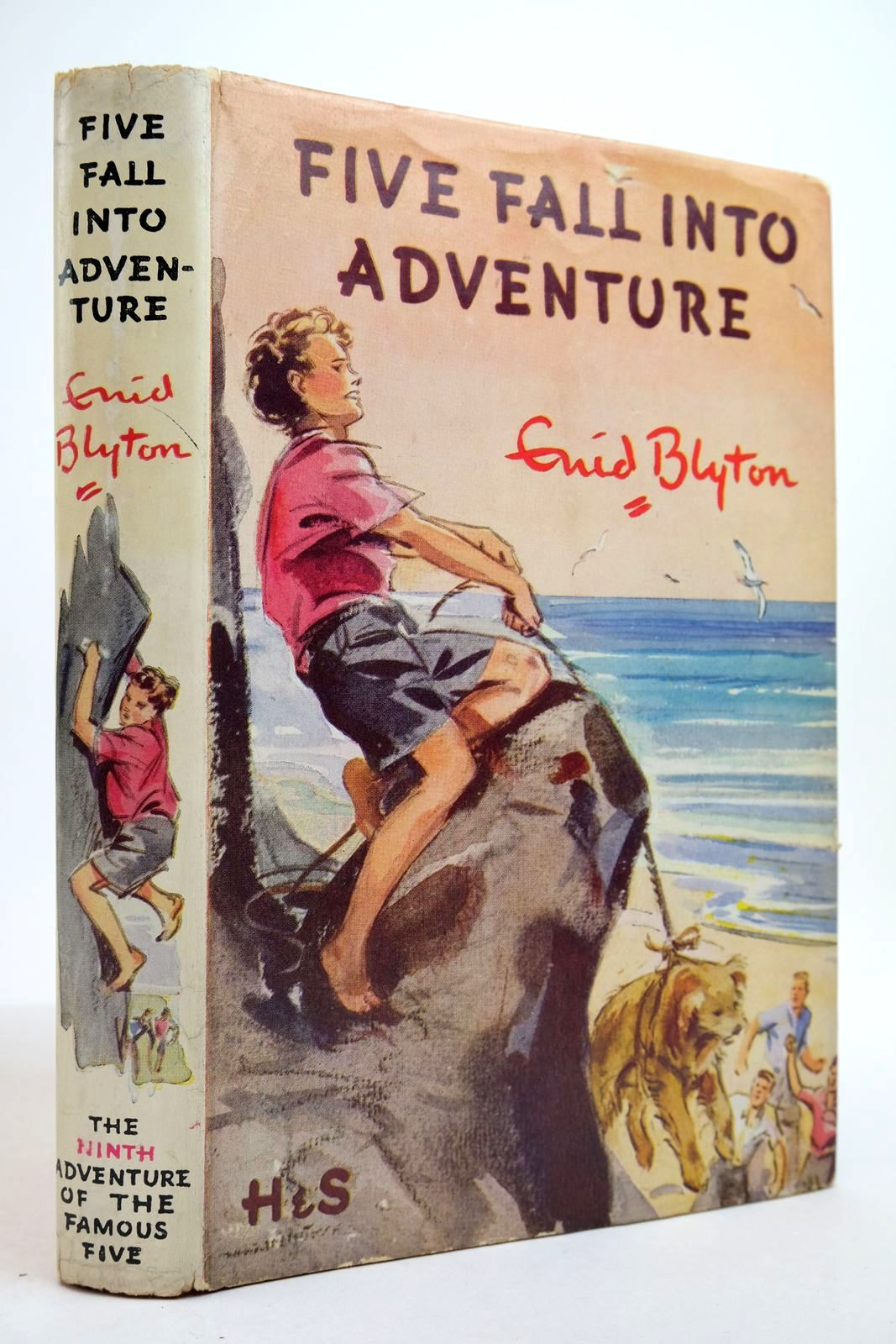 Photo of FIVE FALL INTO ADVENTURE written by Blyton, Enid illustrated by Soper, Eileen published by Hodder & Stoughton (STOCK CODE: 2134946)  for sale by Stella & Rose's Books