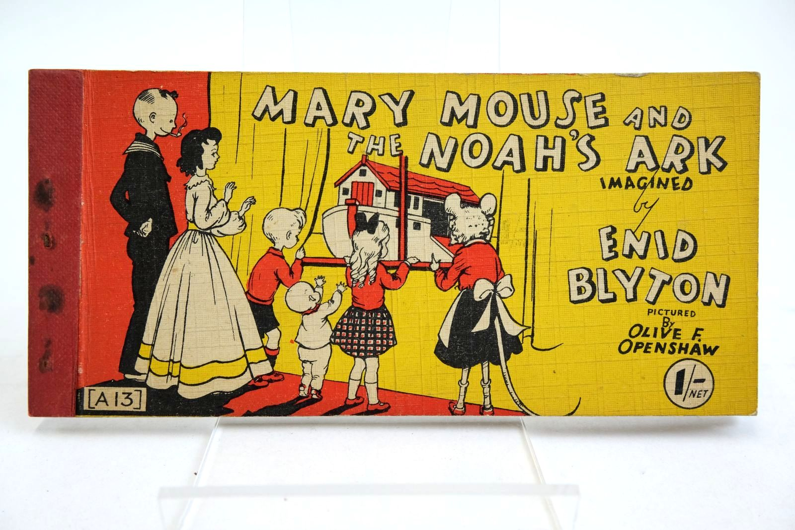 Photo of MARY MOUSE AND THE NOAH'S ARK written by Blyton, Enid illustrated by Openshaw, Olive F. published by Brockhampton Press Ltd. (STOCK CODE: 2134969)  for sale by Stella & Rose's Books