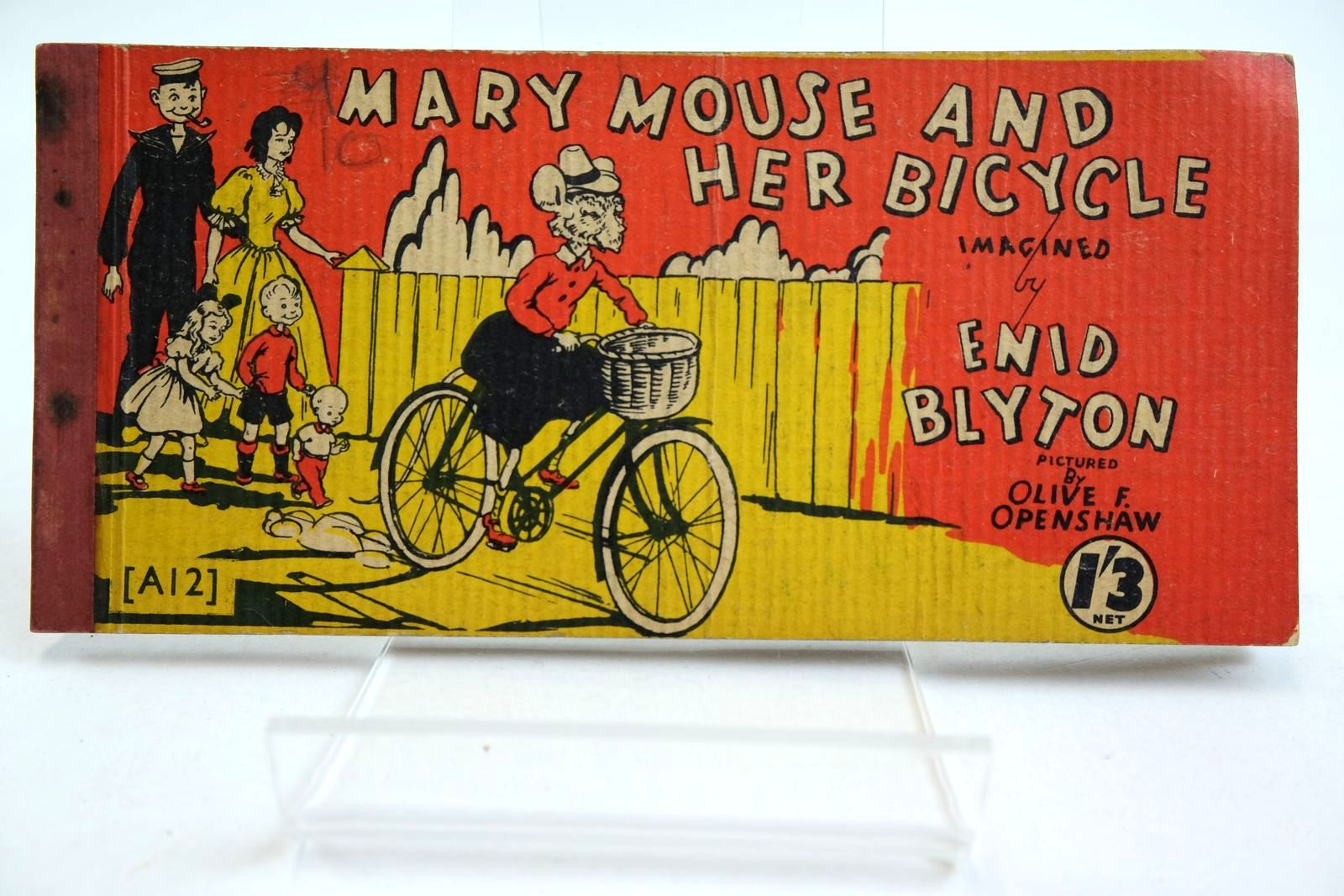 Photo of MARY MOUSE AND HER BICYCLE- Stock Number: 2134971