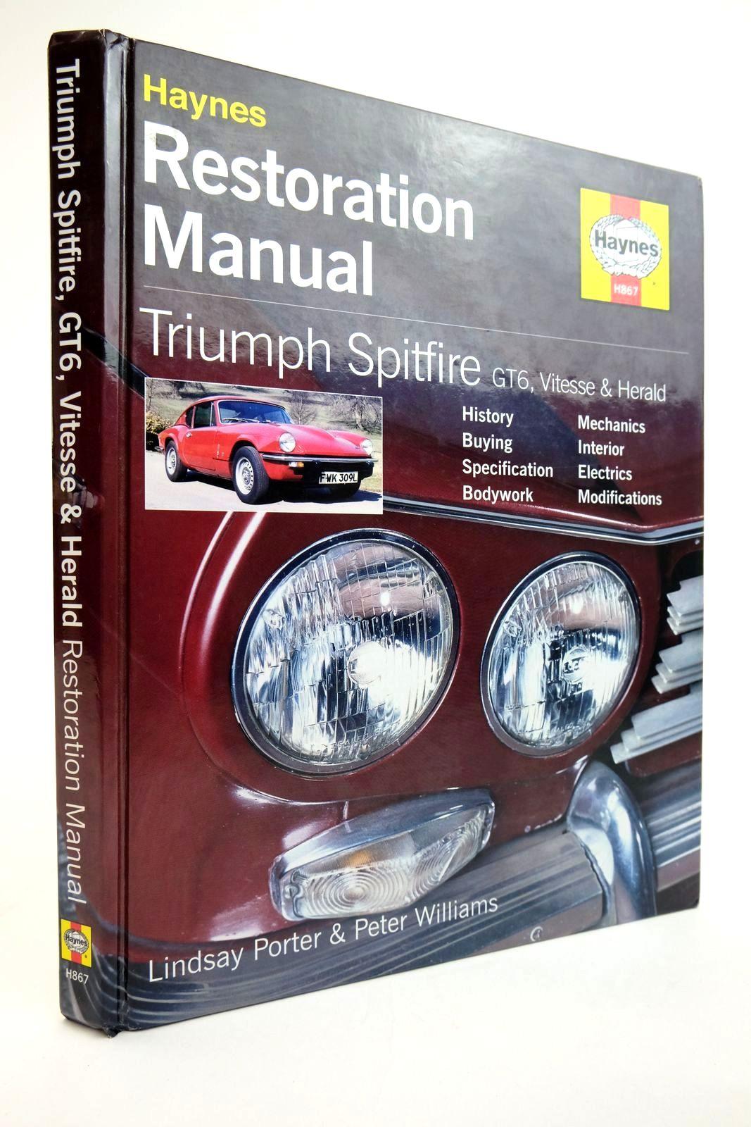 Photo of HAYNES RESTORATION MANUAL: TRIUMPH SPITFIRE GT6, VITESSE & HERALD- Stock Number: 2134994