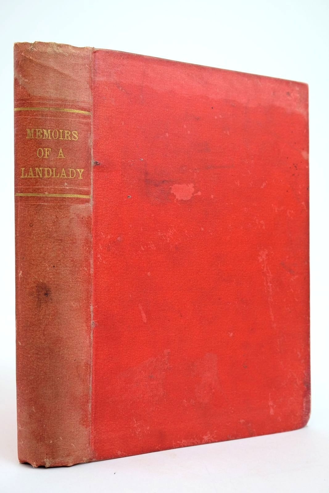 Photo of MEMOIRS OF A LANDLADY- Stock Number: 2135014