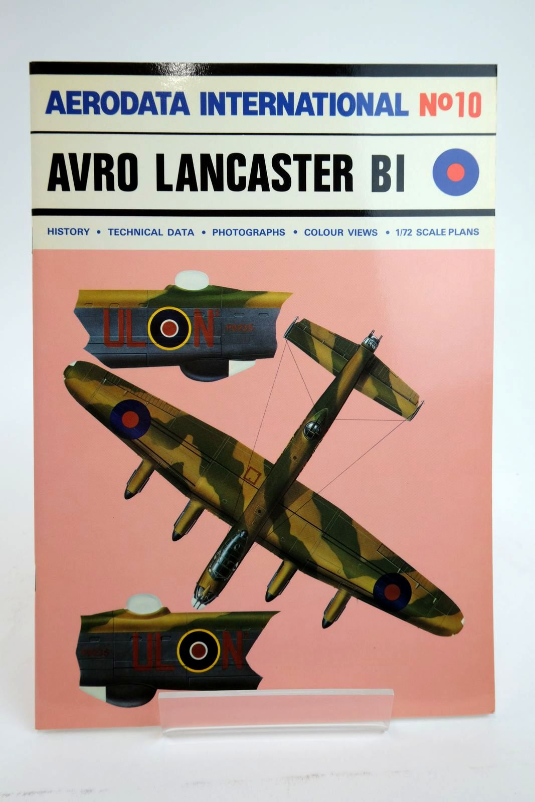 Photo of AERODATA INTERNATIONAL No. 10: AVRO LANCASTER I & III (STANDARD BOMBER VERSIONS OF WW2) written by Moyes, Philip J.R. published by Vintage Aviation Publications Ltd. (STOCK CODE: 2135040)  for sale by Stella & Rose's Books