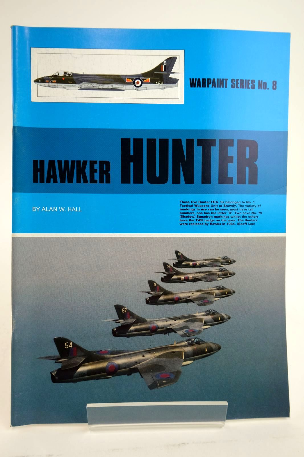 Photo of HAWKER HUNTER written by Hall, Alan W. published by Hall Park Books Ltd. (STOCK CODE: 2135042)  for sale by Stella & Rose's Books