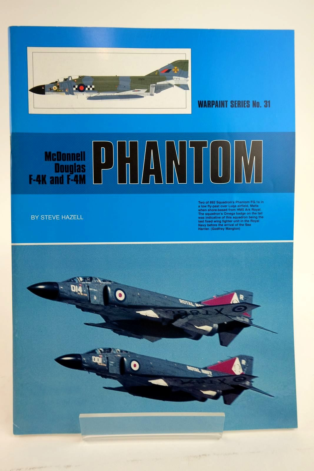 Photo of MCDONNELL DOUGLAS F-4K AND F-4M PHANTOM- Stock Number: 2135047