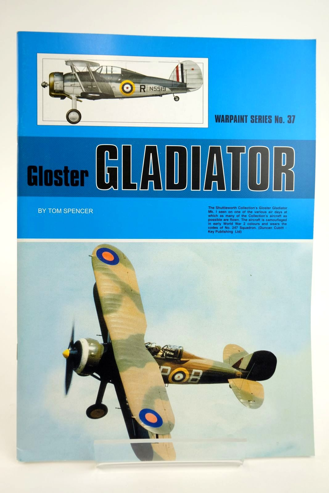 Photo of GLOSTER GLADIATOR written by Spencer, Tom published by Hall Park Books Ltd. (STOCK CODE: 2135049)  for sale by Stella & Rose's Books