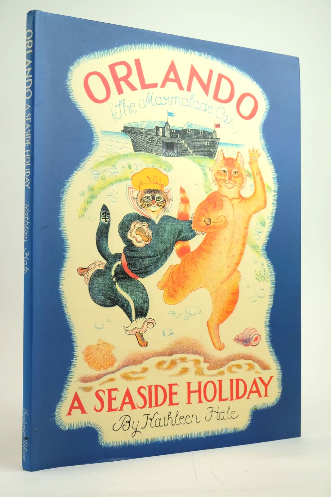 Photo of ORLANDO THE MARMALADE CAT: A SEASIDE HOLIDAY- Stock Number: 2135102