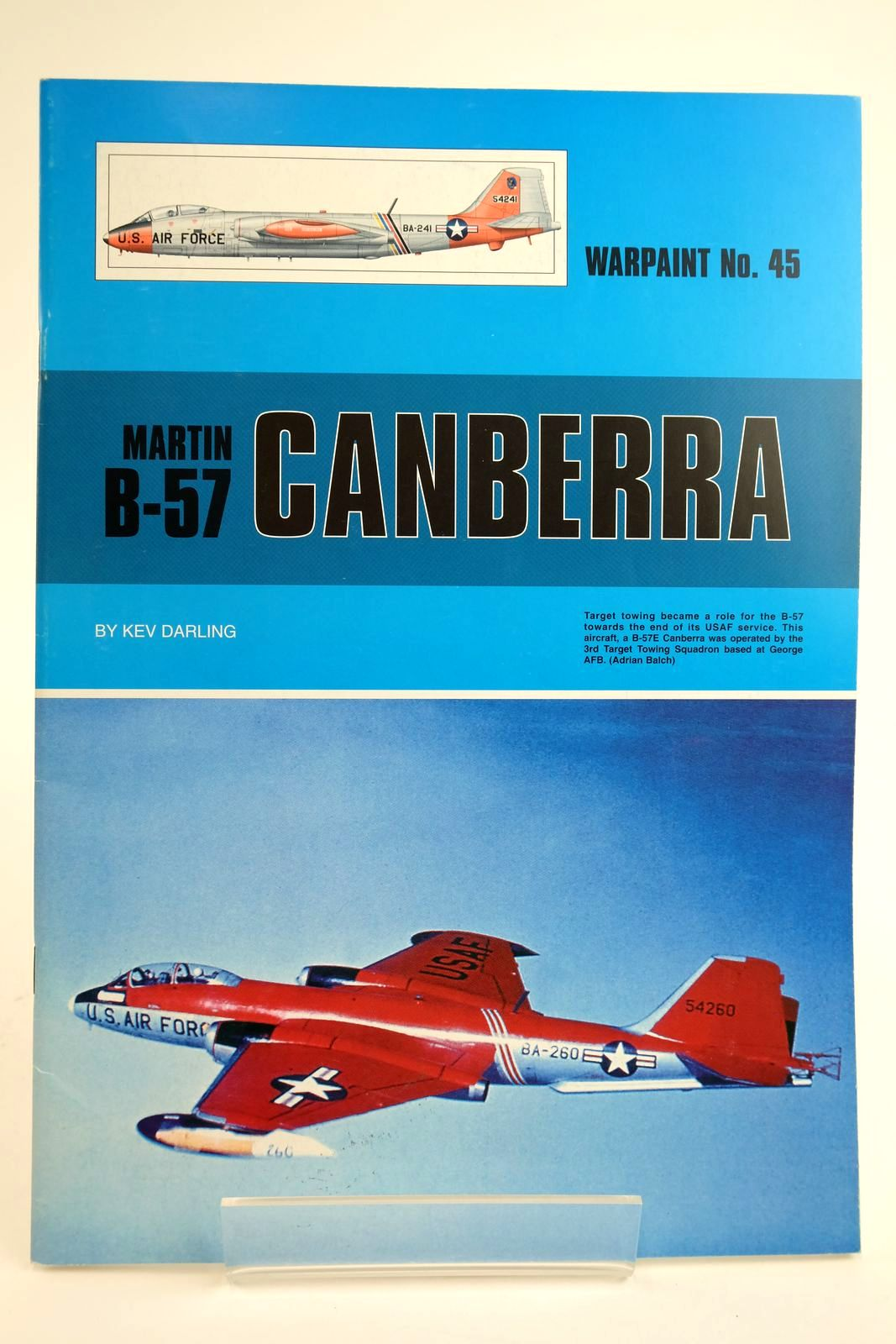 Photo of MARTIN B-57 CANBERRA written by Darling, Kev published by Warpaint Books Ltd. (STOCK CODE: 2135104)  for sale by Stella & Rose's Books