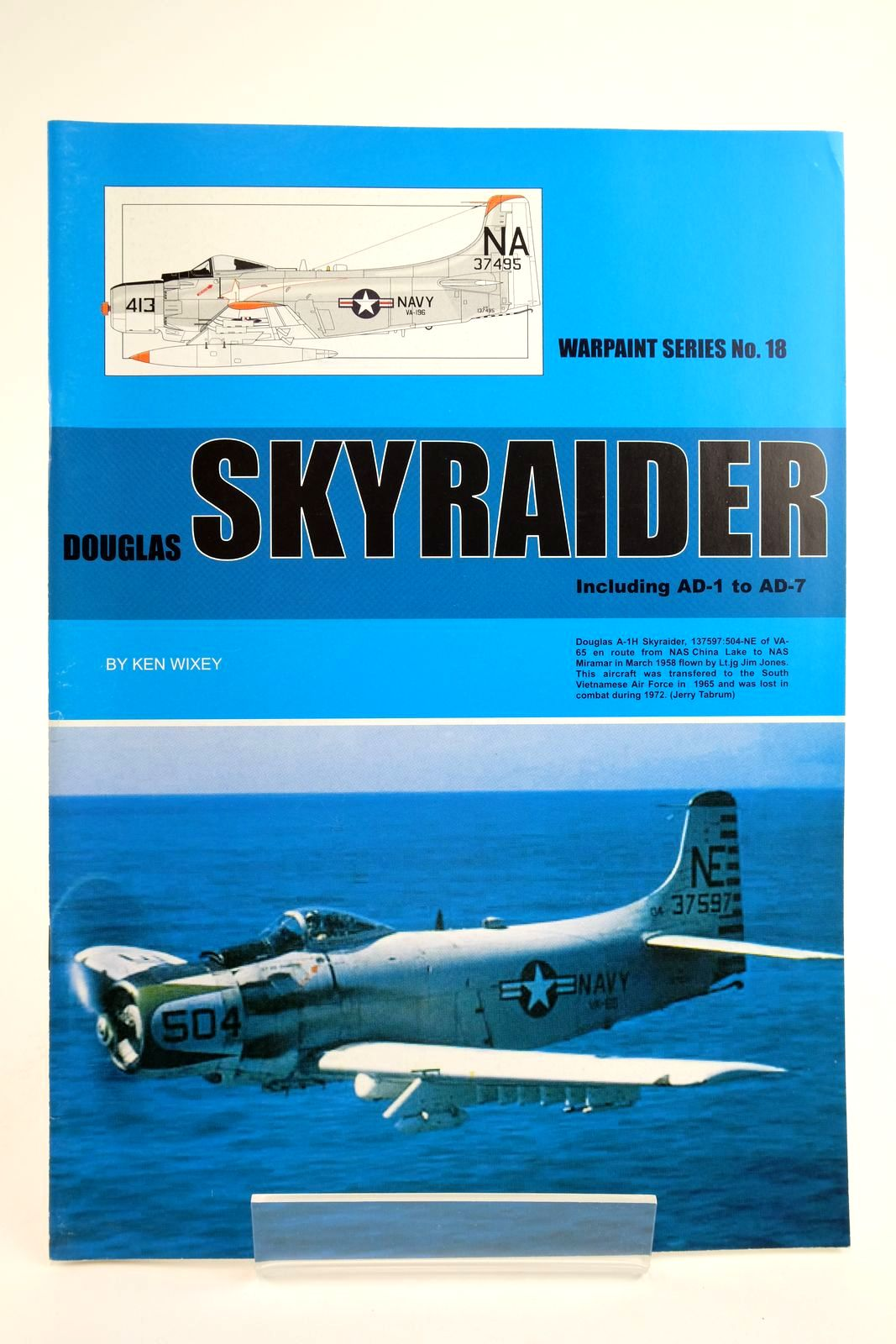 Photo of DOUGLAS SKYRAIDER INCLUDING AD-1 TO AD-7 written by Wixey, Ken published by Hall Park Books Ltd. (STOCK CODE: 2135106)  for sale by Stella & Rose's Books