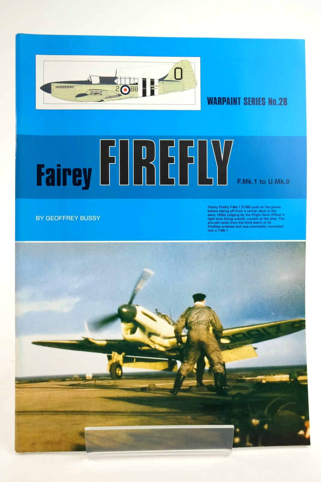 Photo of FAIREY FIREFLY F.MK.1 TO U.MK.9 written by Bussy, Geoffrey published by Hall Park Books Ltd. (STOCK CODE: 2135107)  for sale by Stella & Rose's Books