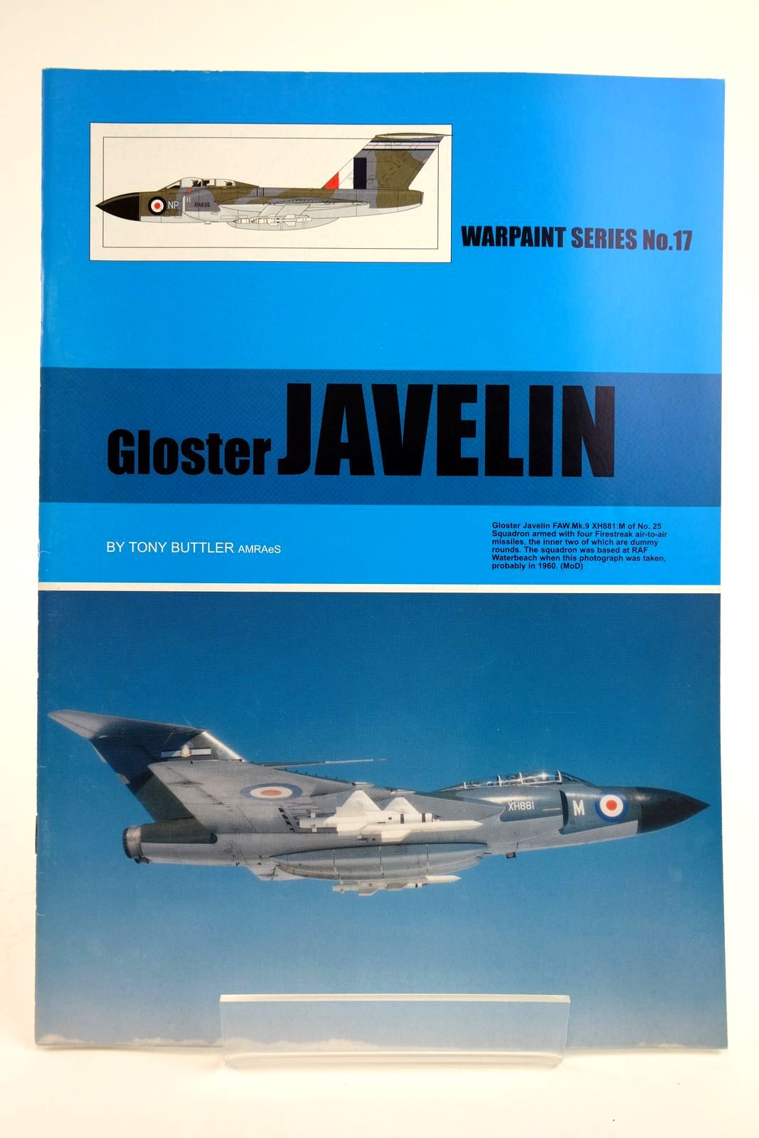 Photo of GLOSTER JAVELIN written by Buttler, Tony published by Hall Park Books Ltd. (STOCK CODE: 2135108)  for sale by Stella & Rose's Books